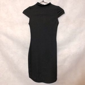 PrettyLittleThing High Neck Bodycon Dress Sz 2